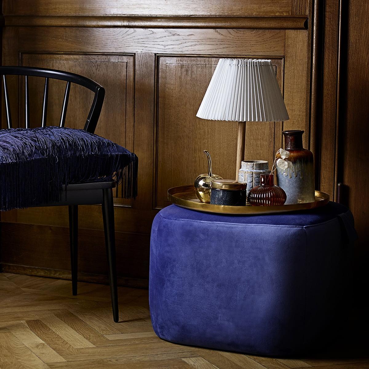 aufbewahrungsdose mit messingdeckel von bloomingville. Black Bedroom Furniture Sets. Home Design Ideas