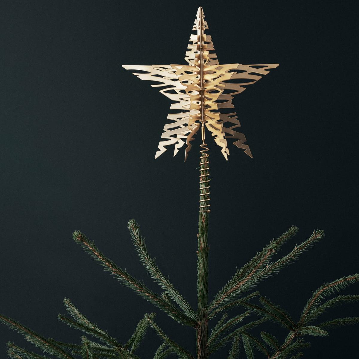 Stern Auf Weihnachtsbaum.Tangle Weihnachtsbaum Stern Von Stelton