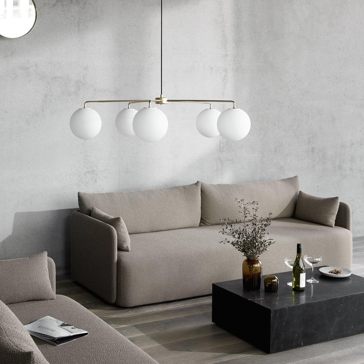 Das Menu   Offset Sofa Im Stilvoll Eingerichteten Ambiente