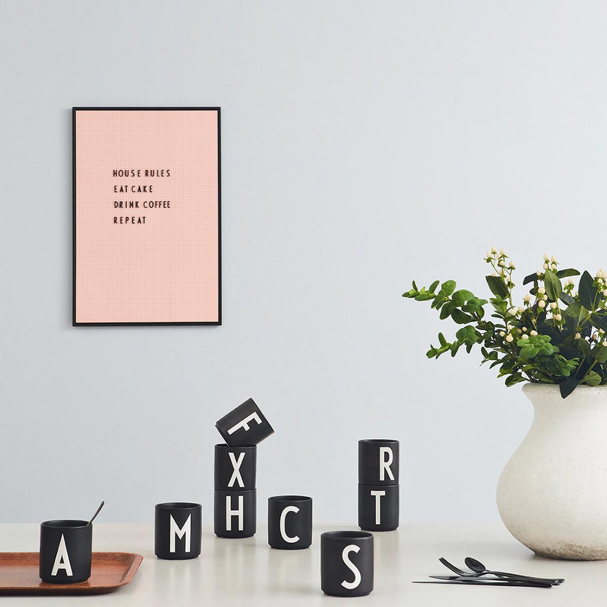 design letters aj porzellan becher connox. Black Bedroom Furniture Sets. Home Design Ideas