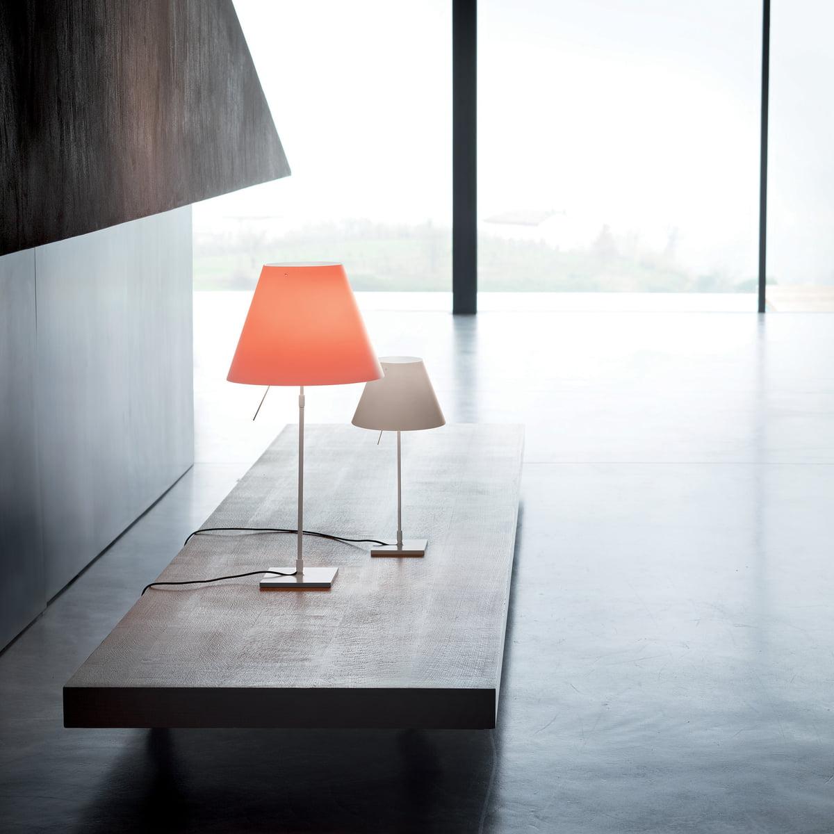costanzina tischleuchte von luceplan. Black Bedroom Furniture Sets. Home Design Ideas