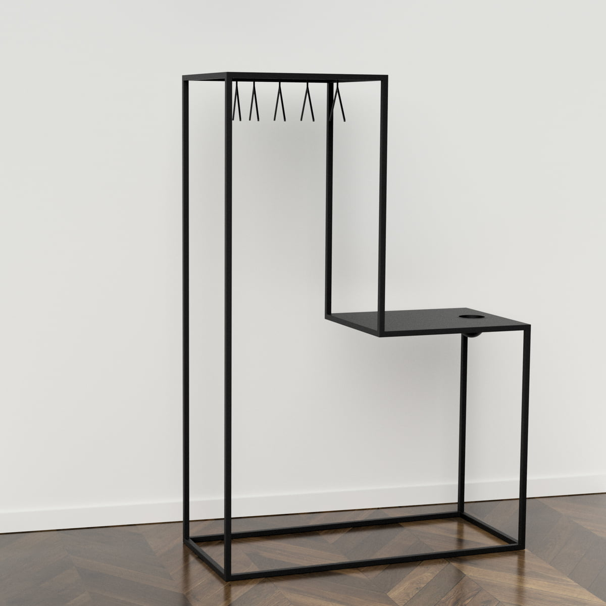 garderobe cool design wall pegs and clothing hooks at einrichten design with garderobe great. Black Bedroom Furniture Sets. Home Design Ideas