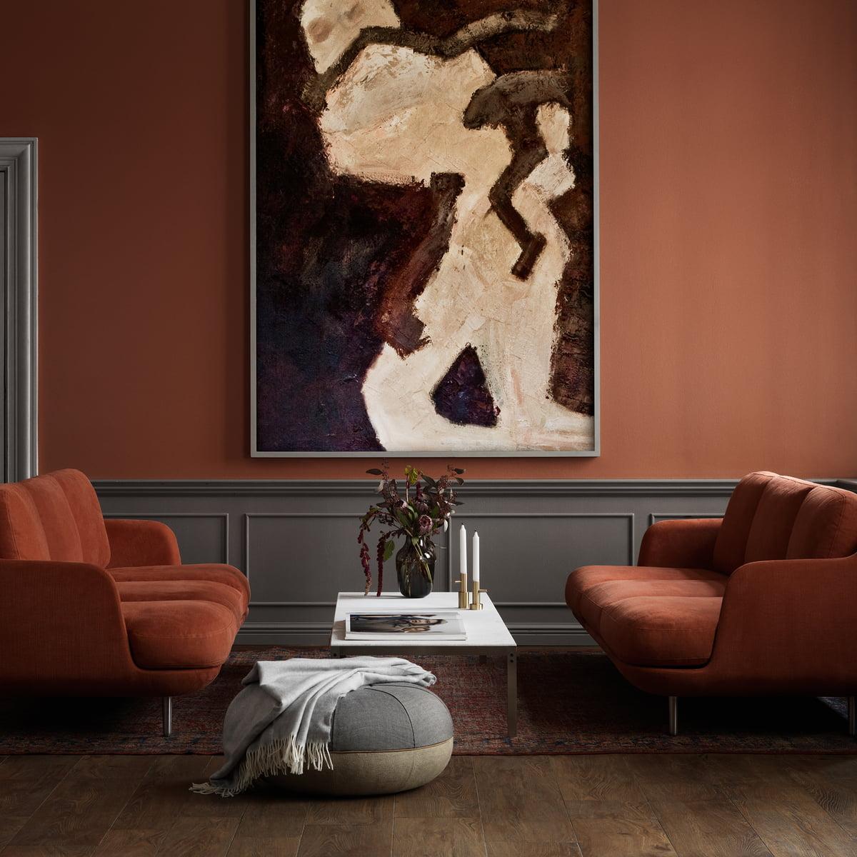 pouf by cecilie manz von fritz hansen. Black Bedroom Furniture Sets. Home Design Ideas