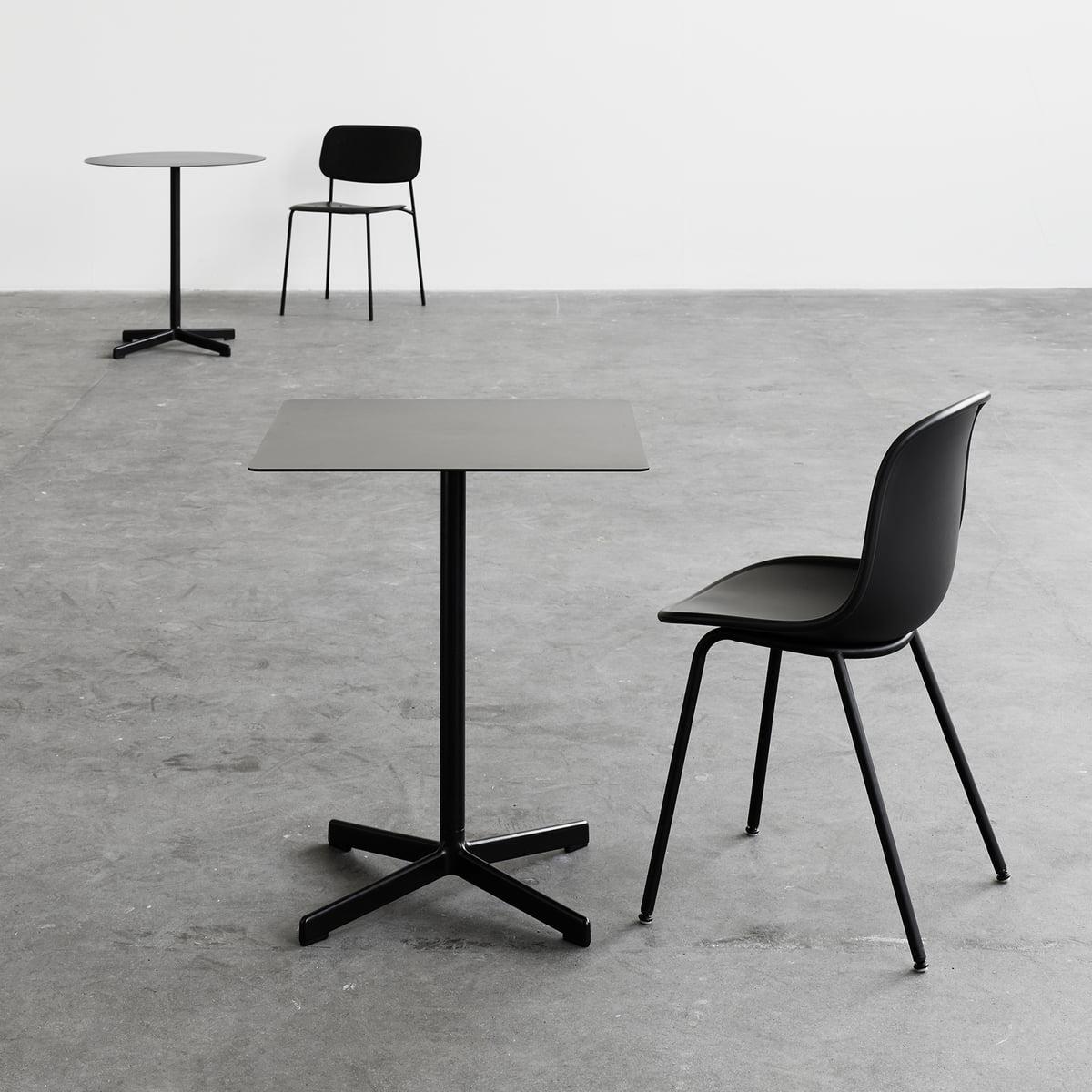neu tisch quadratisch von hay connox. Black Bedroom Furniture Sets. Home Design Ideas
