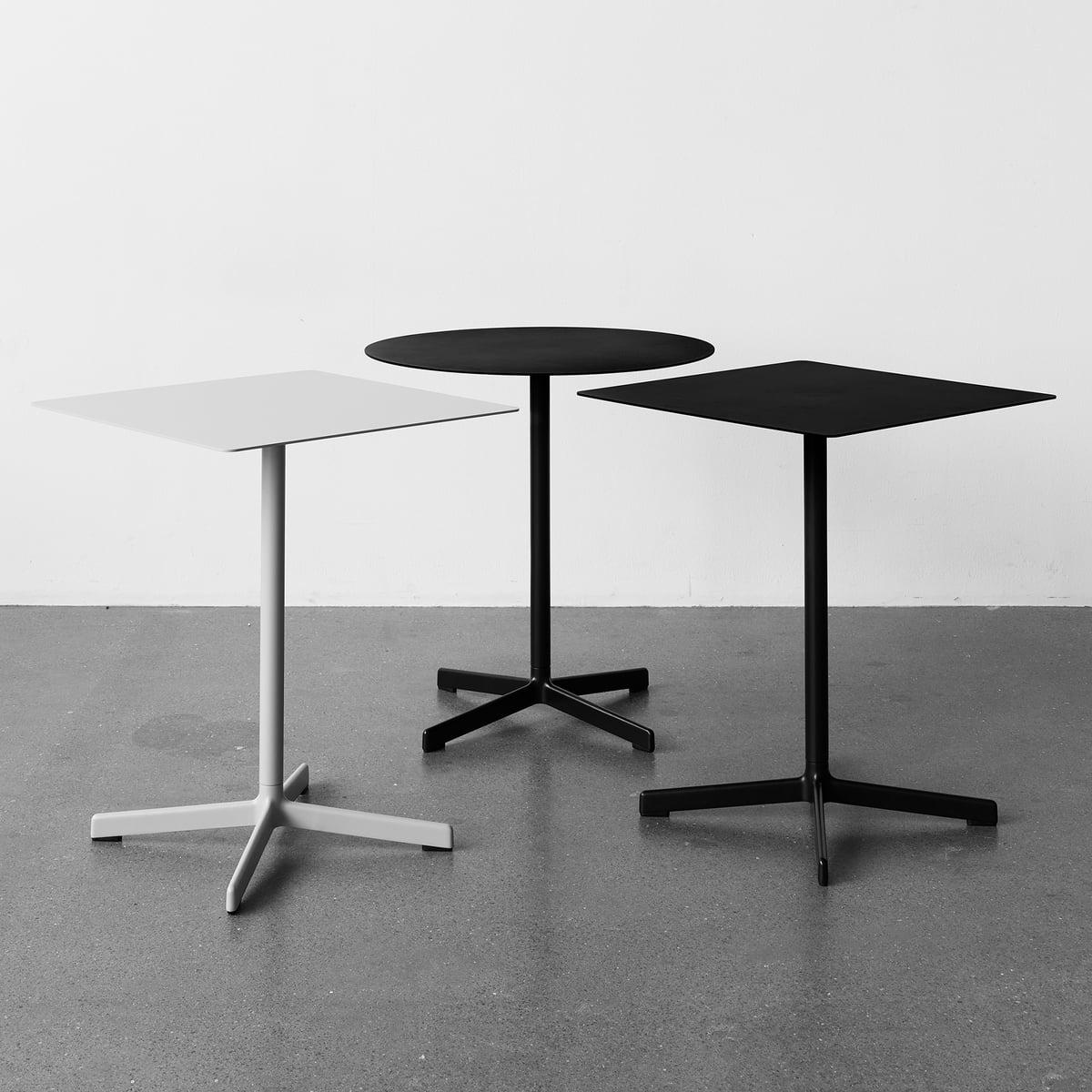 neu tisch rund von hay connox. Black Bedroom Furniture Sets. Home Design Ideas