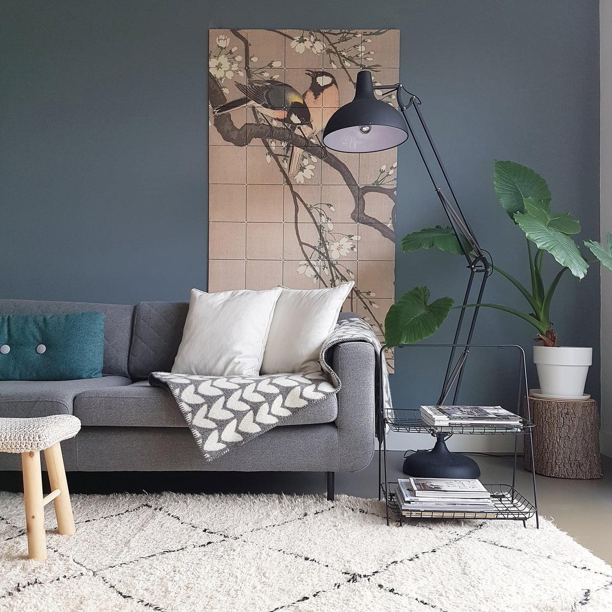 kohlmeisen auf einem kirschbaum koson von ixxi connox. Black Bedroom Furniture Sets. Home Design Ideas