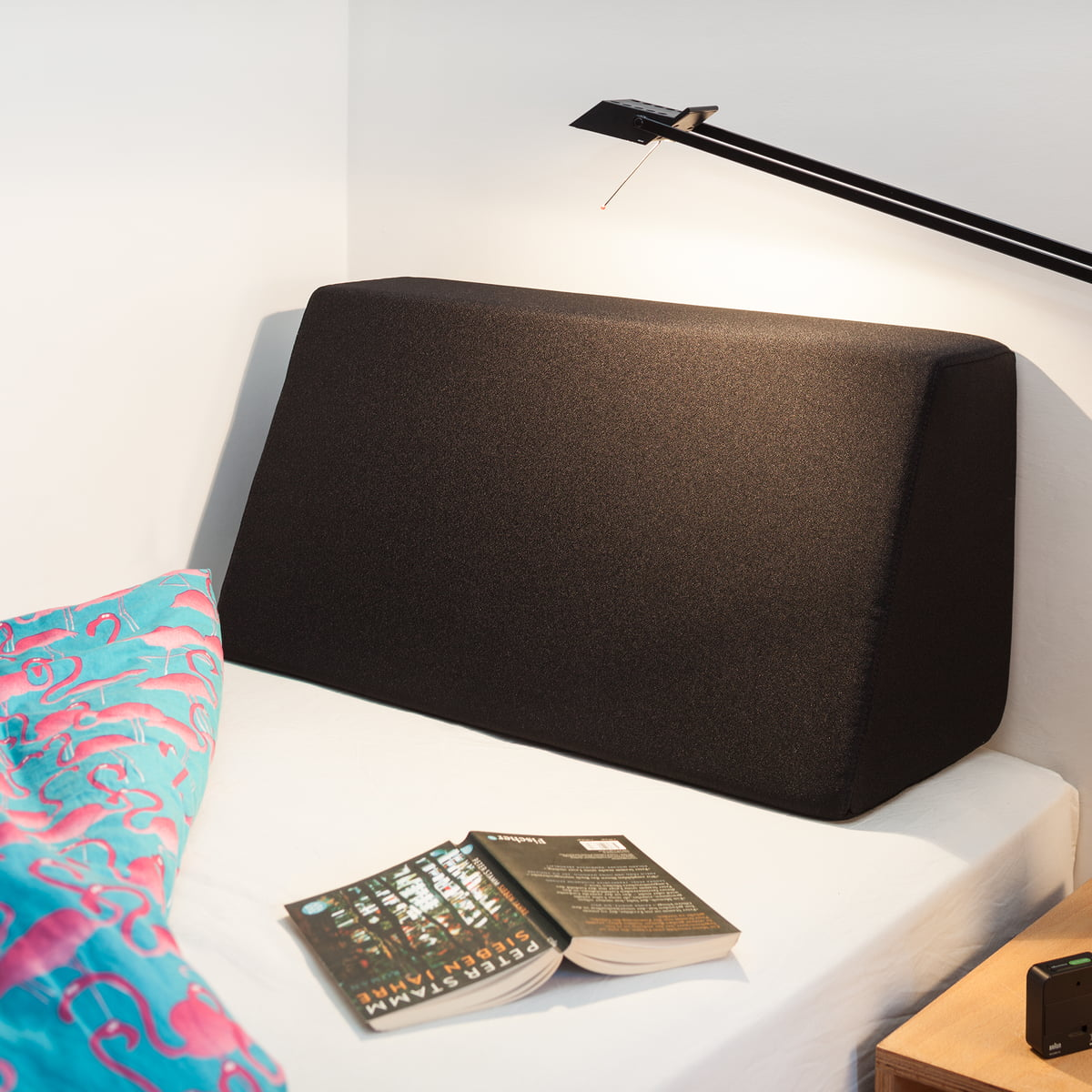 lehn r ckenkissen f r tojo bett von tojo connox. Black Bedroom Furniture Sets. Home Design Ideas