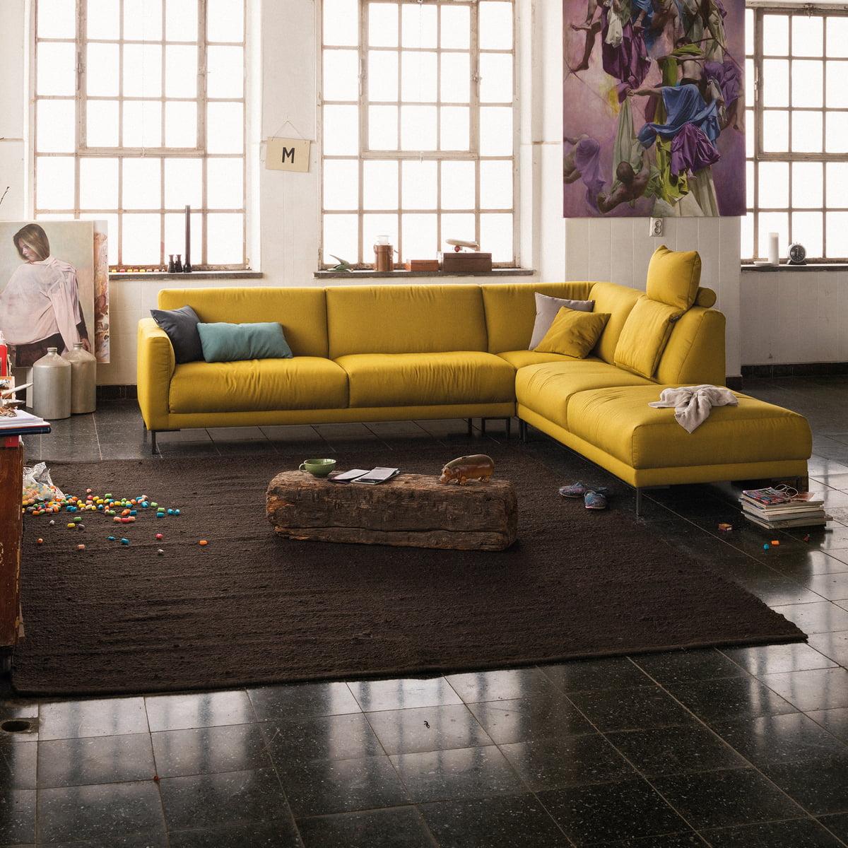 ecksofa 141 von freistil rolf benz connox. Black Bedroom Furniture Sets. Home Design Ideas