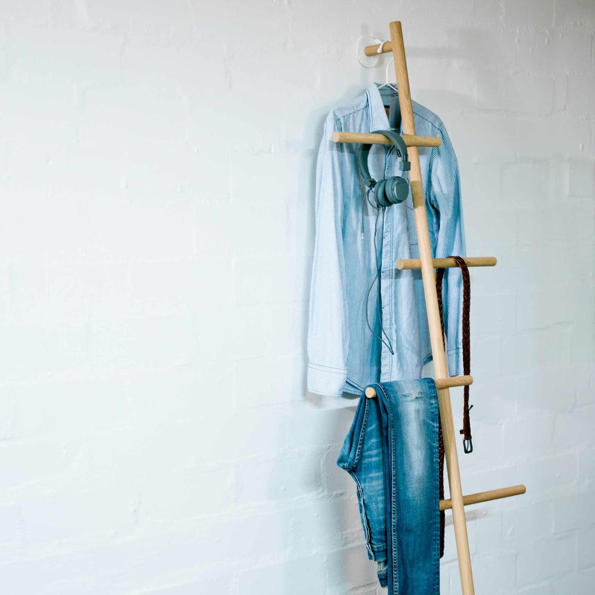 Handtuchleiter Eiche wendra handtuchhalter garderobe kommod