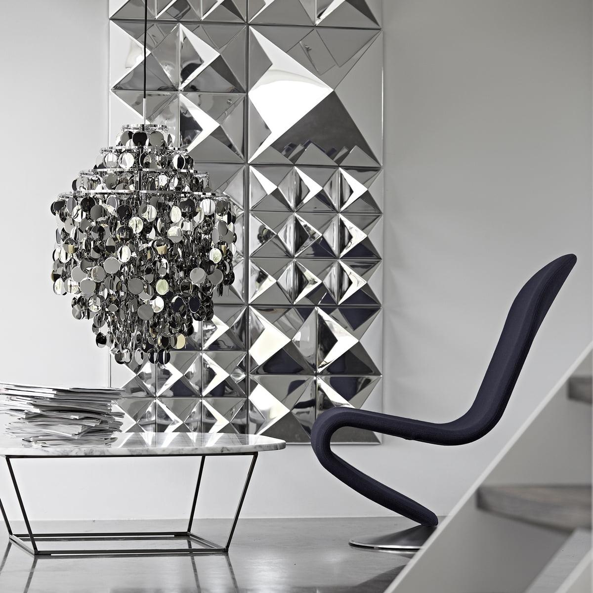 Spiegel Wand Skulptur Verpan Connox