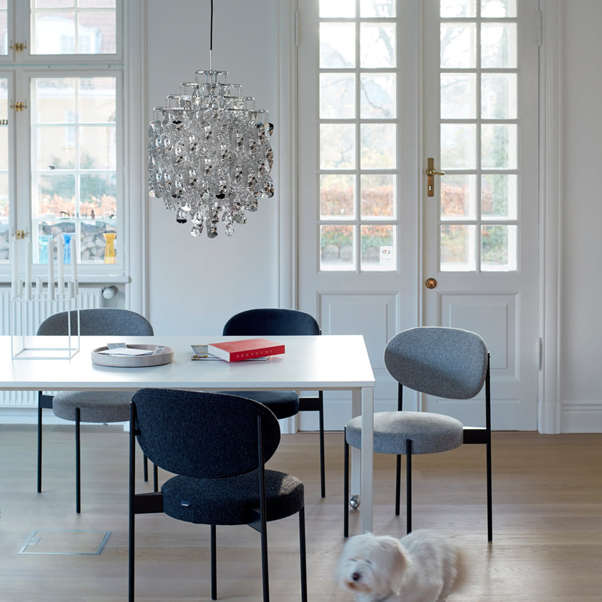 spiral sp01 pendelleuchte von verpan connox. Black Bedroom Furniture Sets. Home Design Ideas