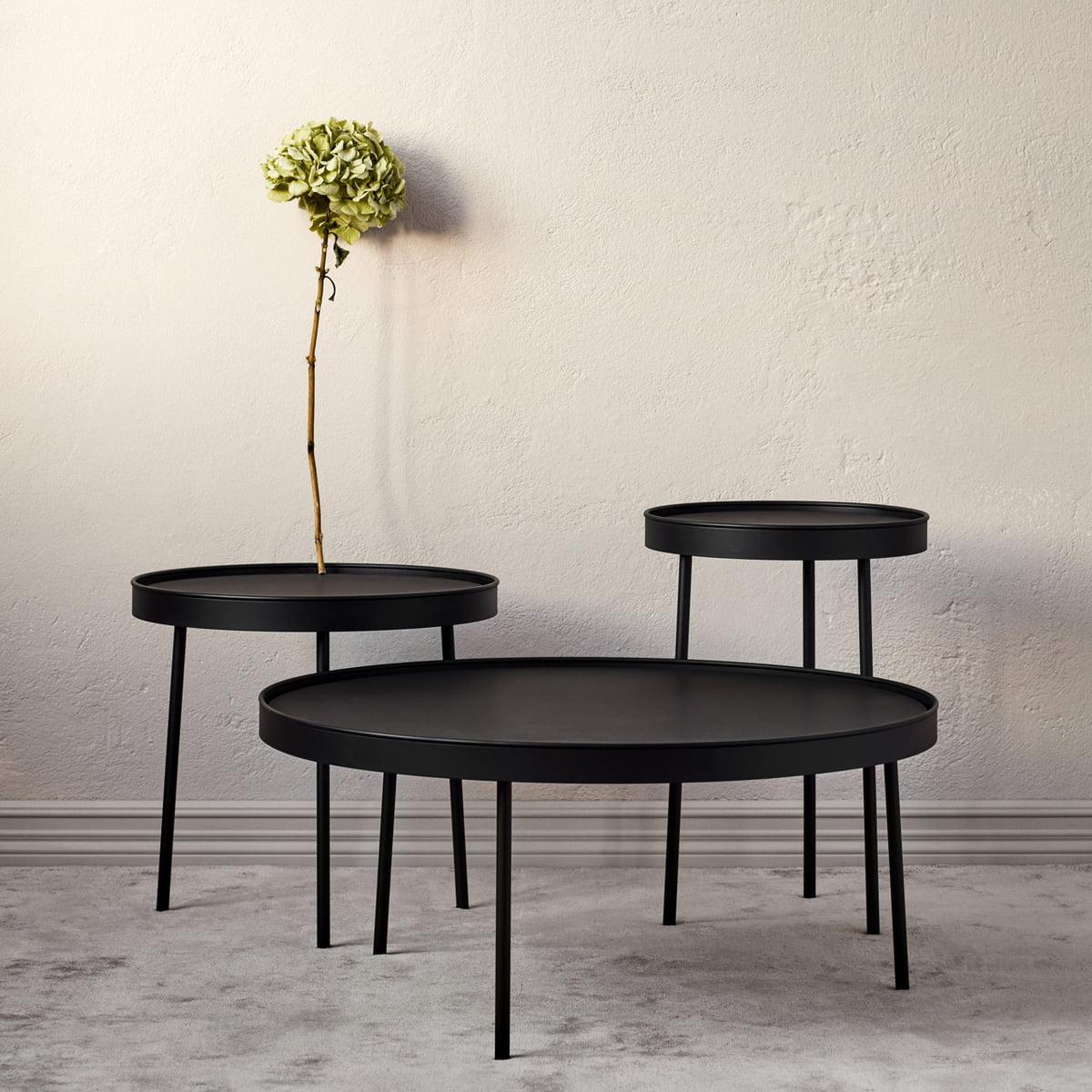 northern stilk coffee table schwarz eiche verschiedene groessen ambiente jpg