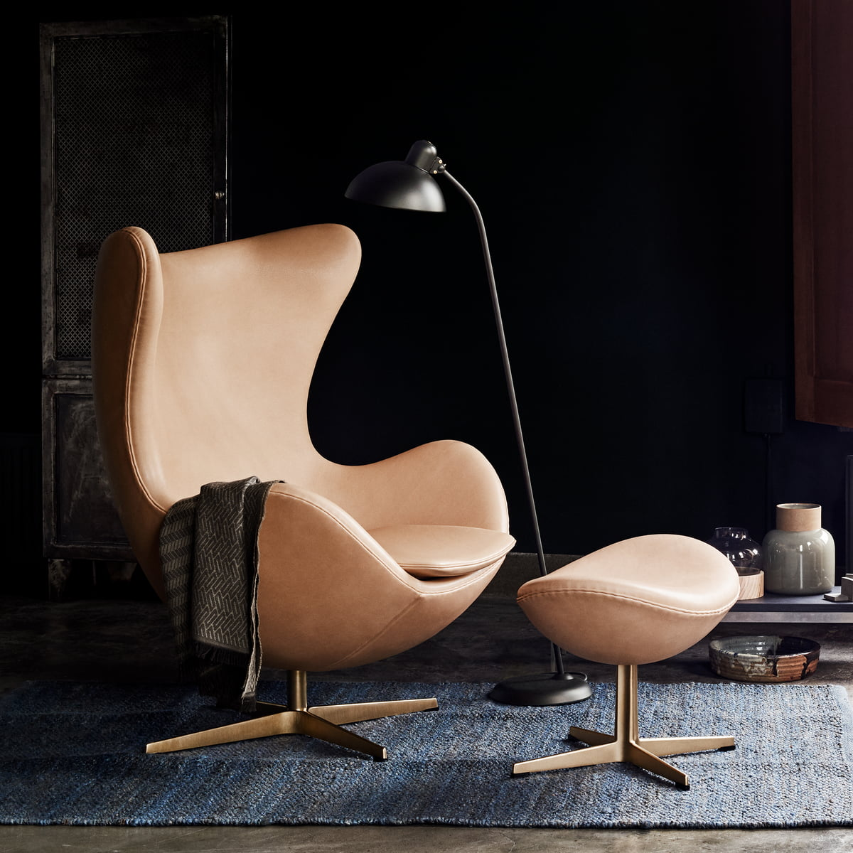 ei sessel von fritz hansen connox. Black Bedroom Furniture Sets. Home Design Ideas