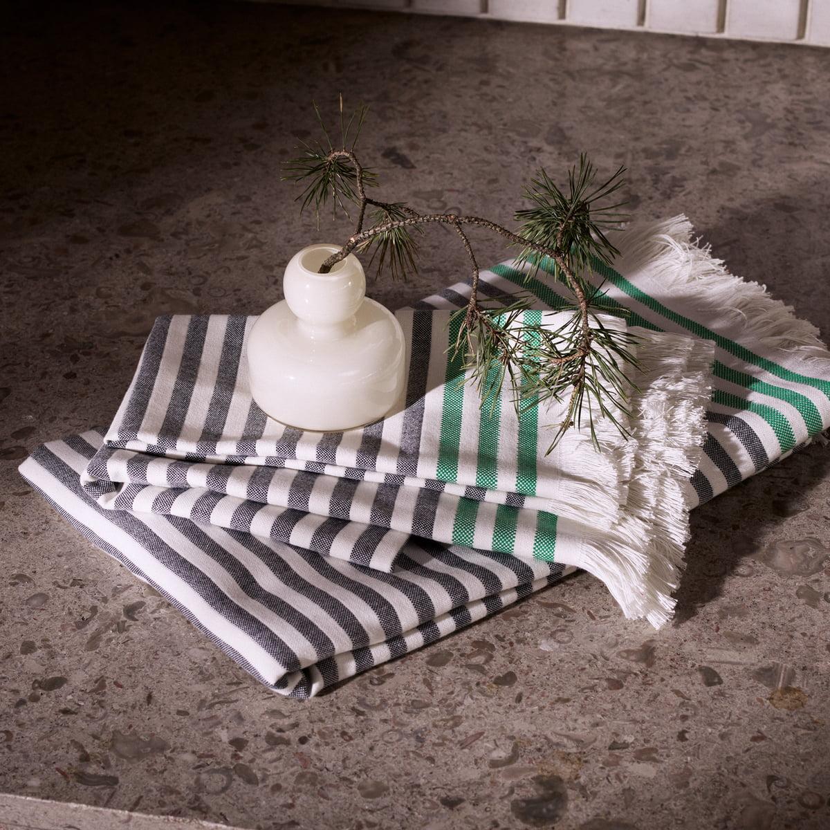 hamam handtuch mit streifen marimekko. Black Bedroom Furniture Sets. Home Design Ideas