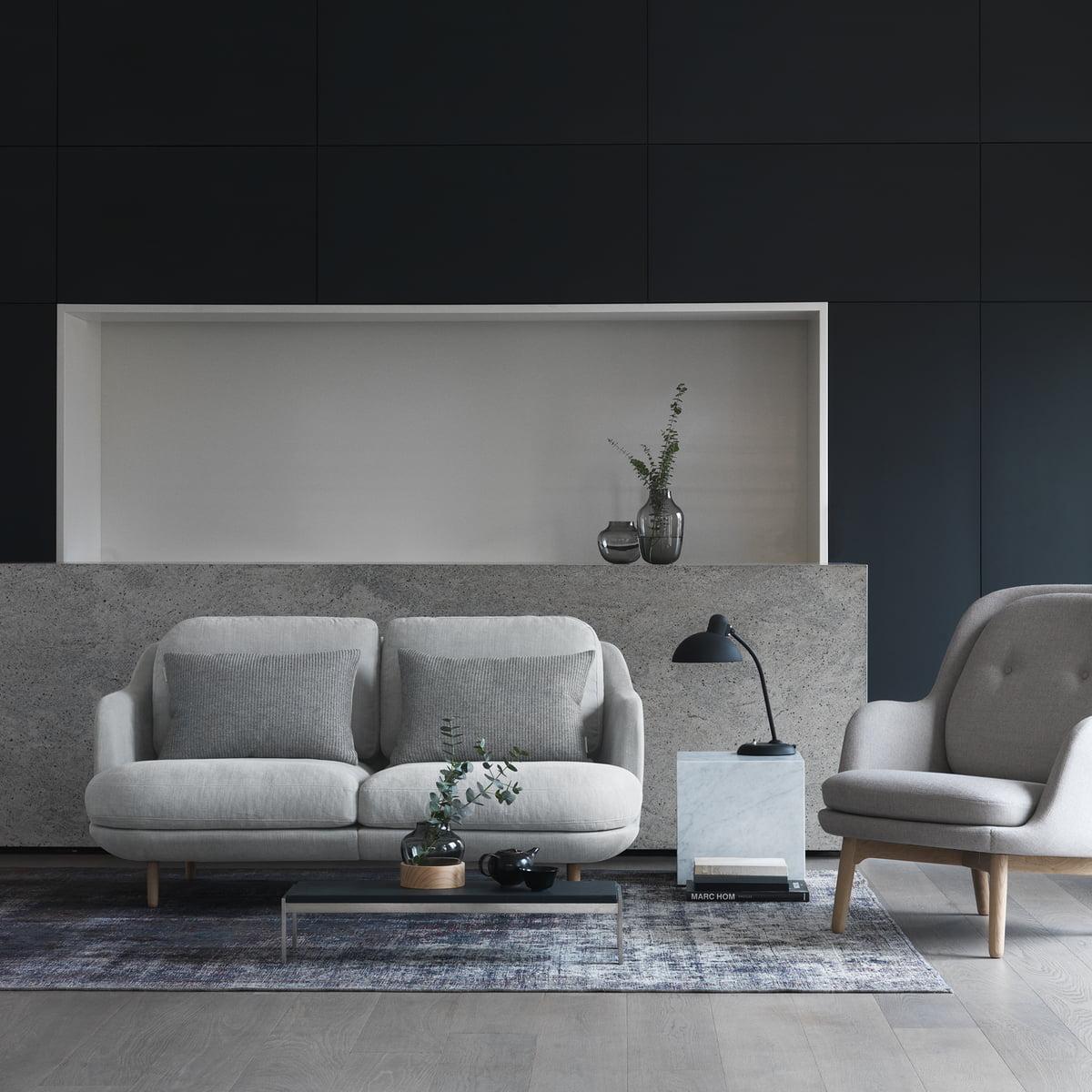 Lune Sofa Von Fritz Hansen Connox