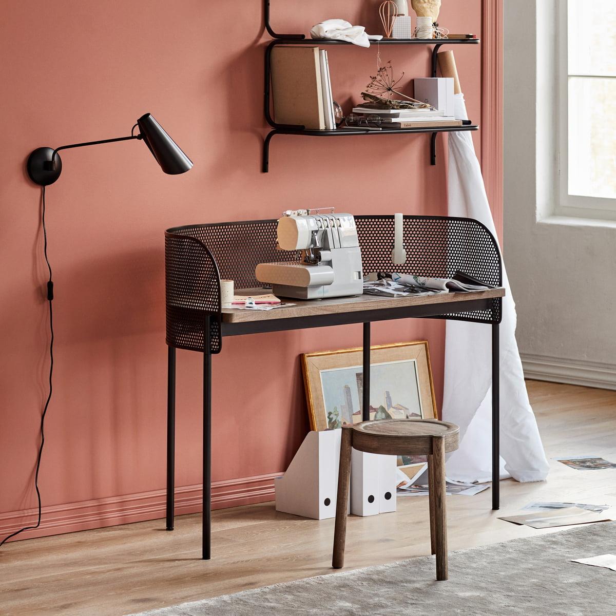 schreibtisch wandleuchte. Black Bedroom Furniture Sets. Home Design Ideas