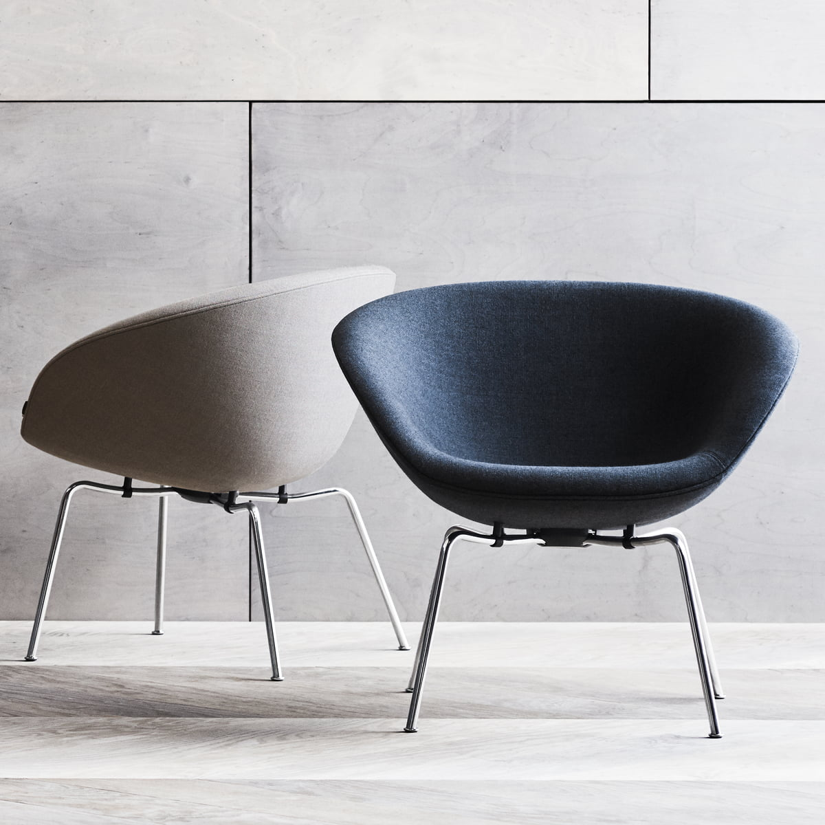 pot sessel von fritz hansen connox. Black Bedroom Furniture Sets. Home Design Ideas