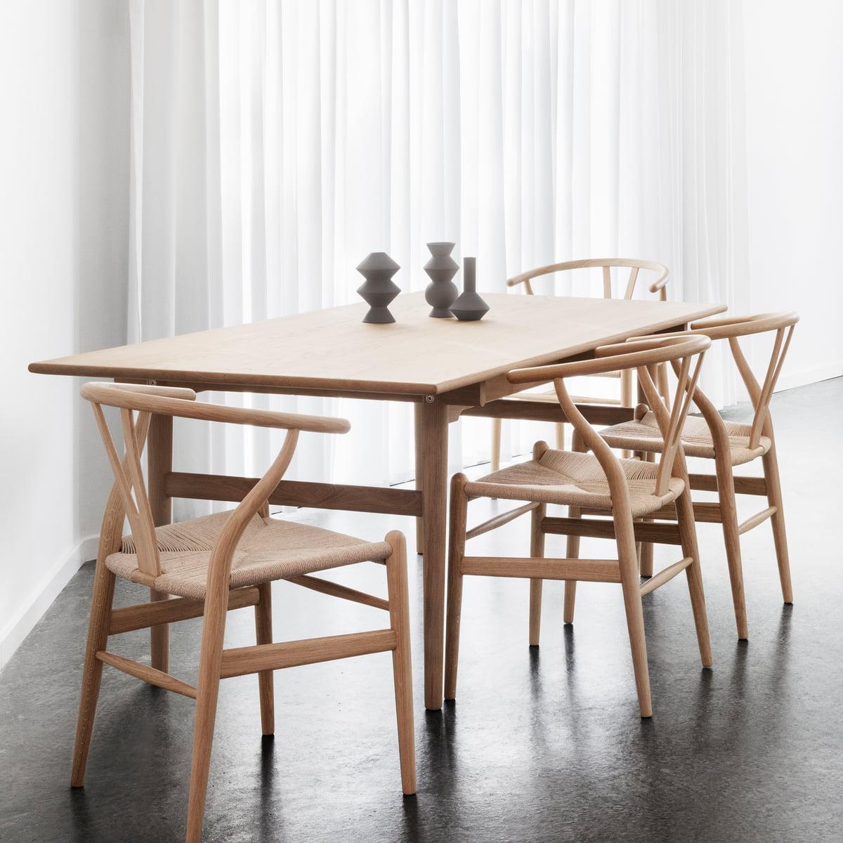 ch327 esstisch von carl hansen connox. Black Bedroom Furniture Sets. Home Design Ideas
