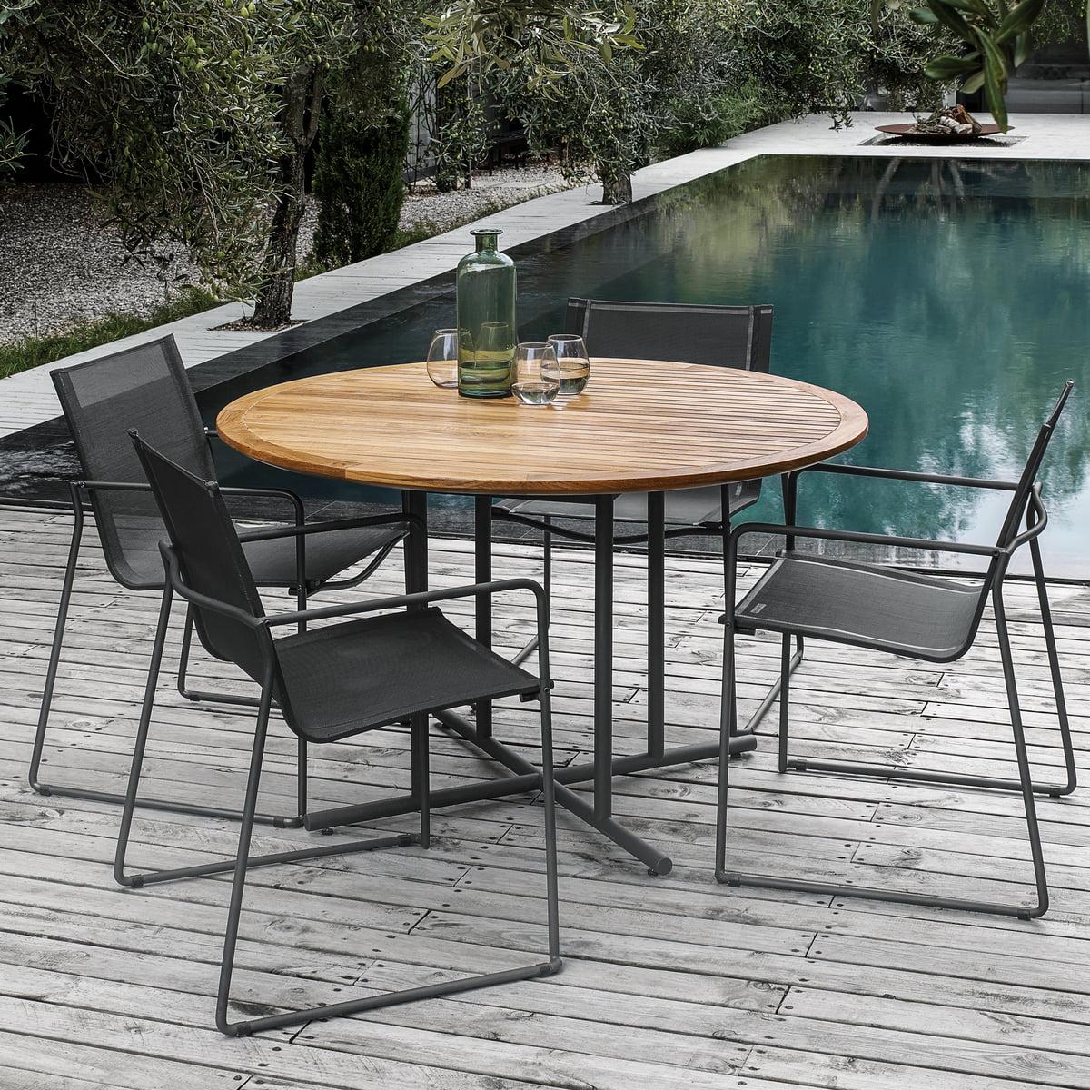 Whirl Garten-Tisch von Gloster | Connox