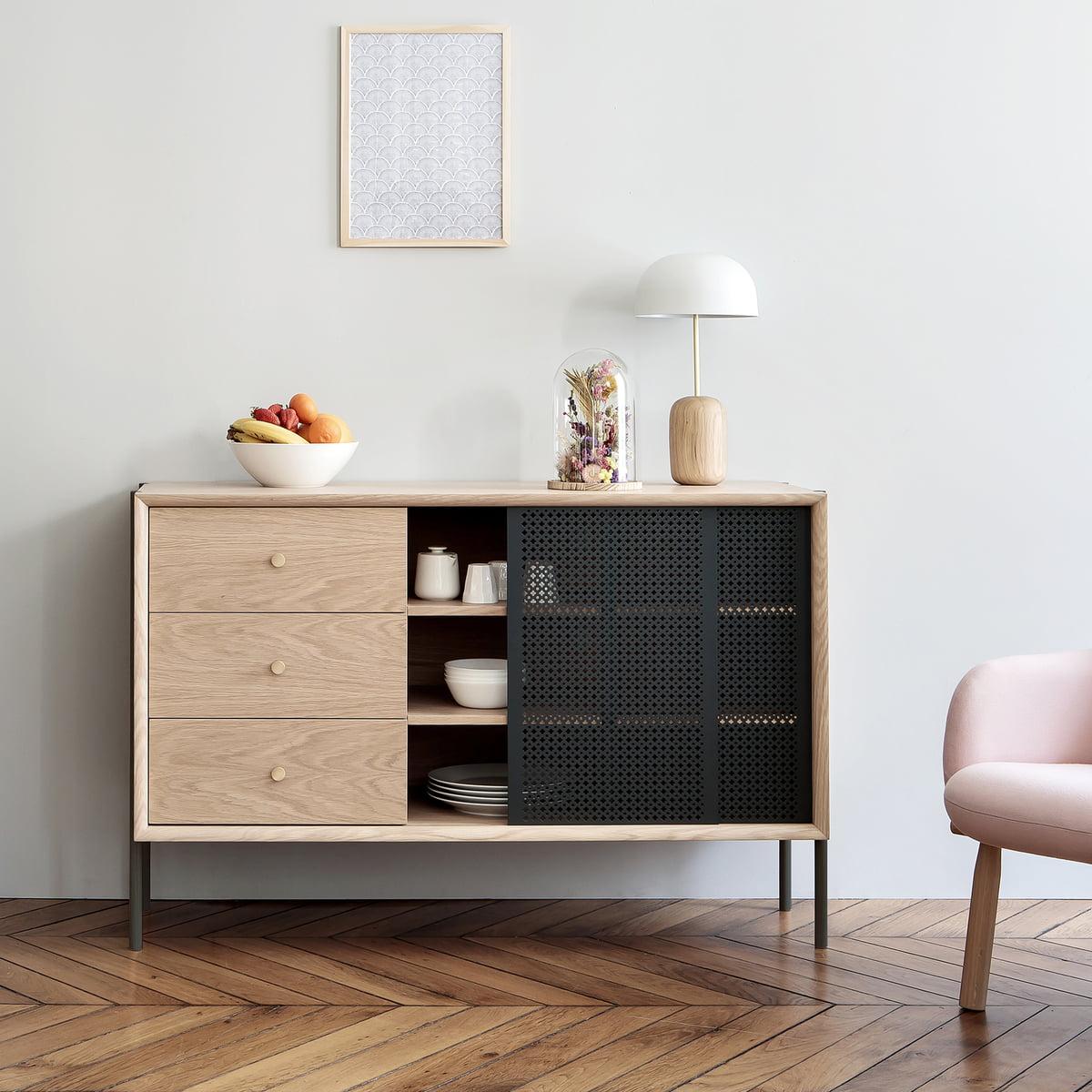 gabin sideboard mit schublade von hart connox. Black Bedroom Furniture Sets. Home Design Ideas