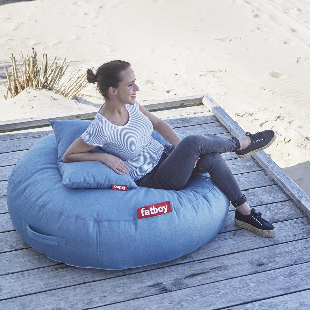 kissen f r pupillow outdoor sitzsack von fatboy connox. Black Bedroom Furniture Sets. Home Design Ideas