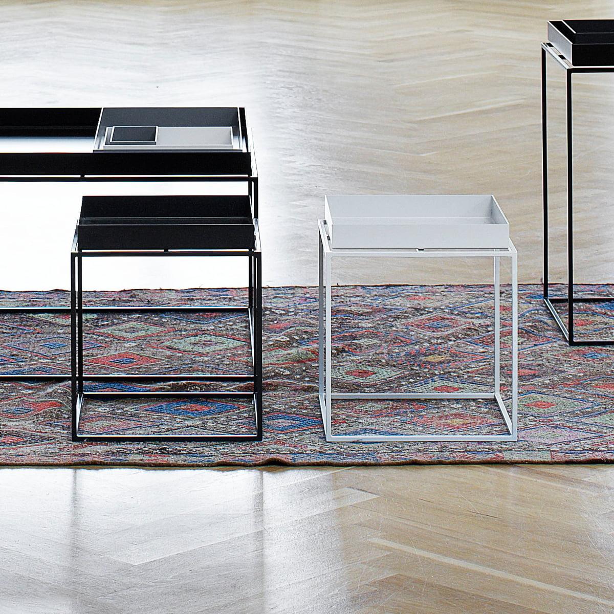 Hay   Tray Table 30 X 30 Cm, Weiß