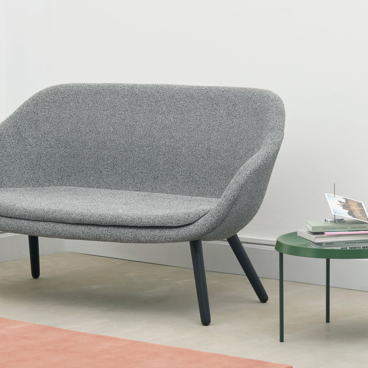 Hay   About A Lounge Sofa For Comwell, Eiche Geseift / Remix 123 (hellgrau