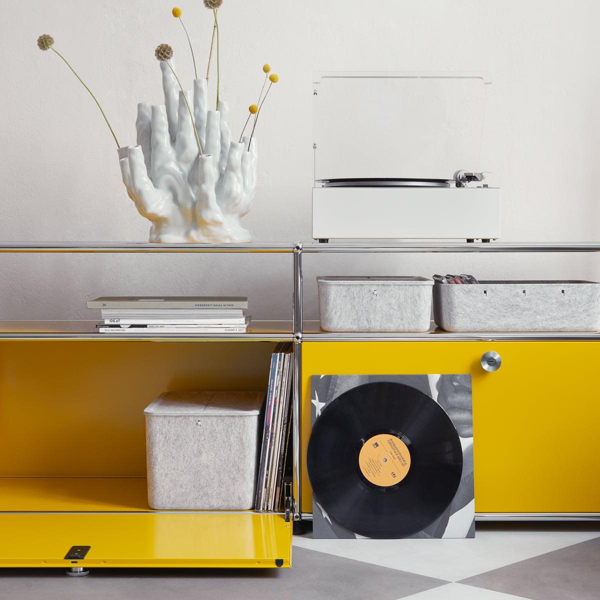 usm tv sideboard online kaufen connox. Black Bedroom Furniture Sets. Home Design Ideas