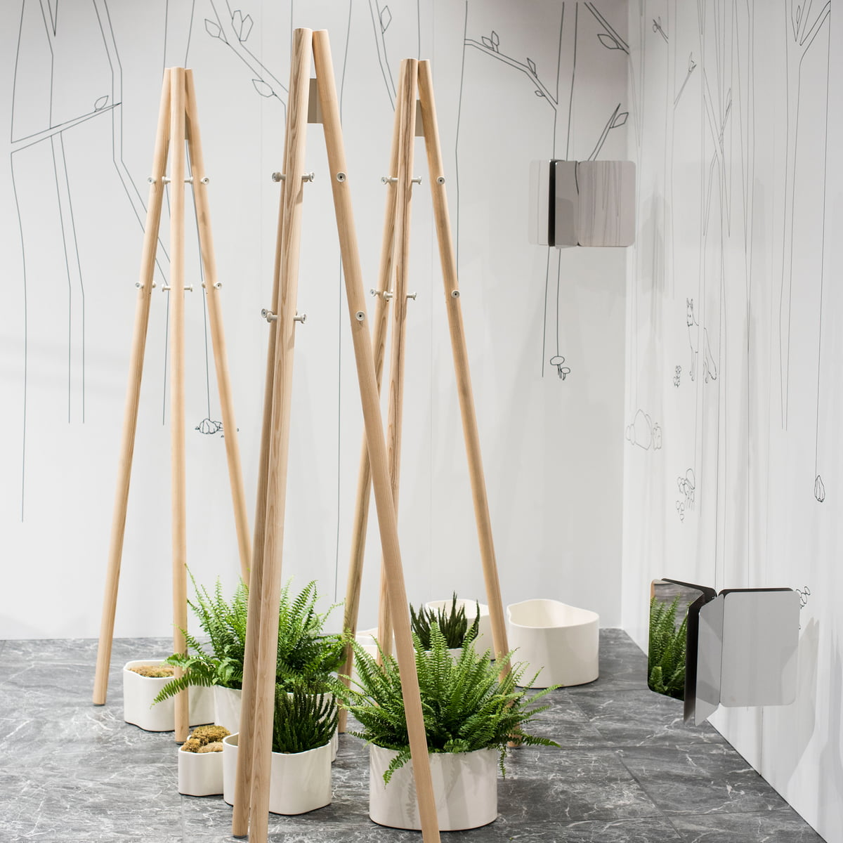 Beste Galerie Von Kleiderstnder Designer - Dekorationen Ideen