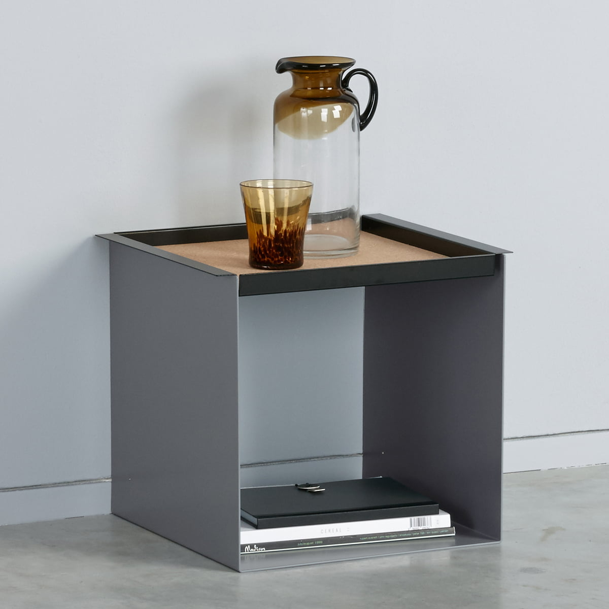Christbaumkugeln Grau.Konstantin Slawinski Yu Tray Table Weiss Kork