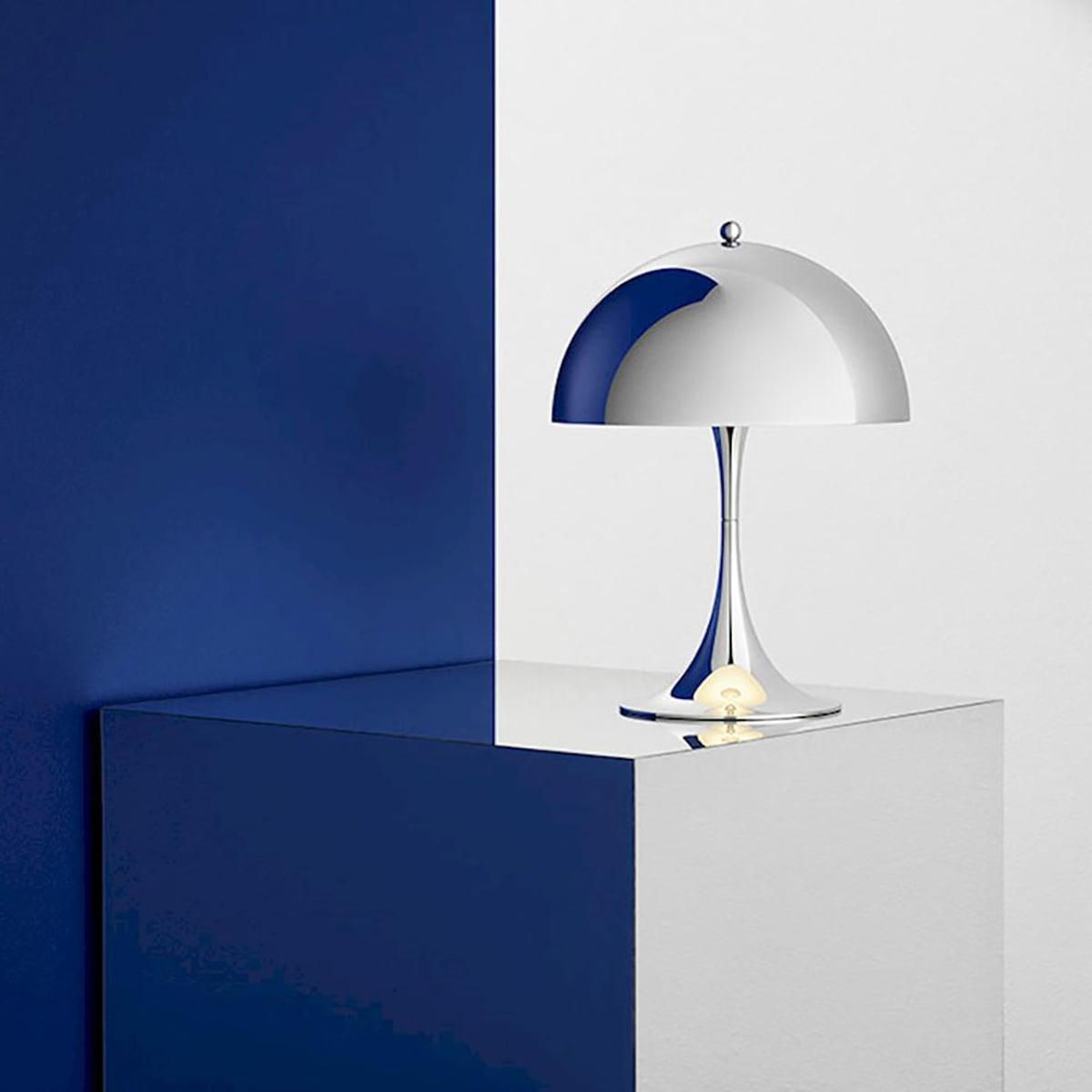 panthella mini tischleuchte von louis poulsen connox. Black Bedroom Furniture Sets. Home Design Ideas