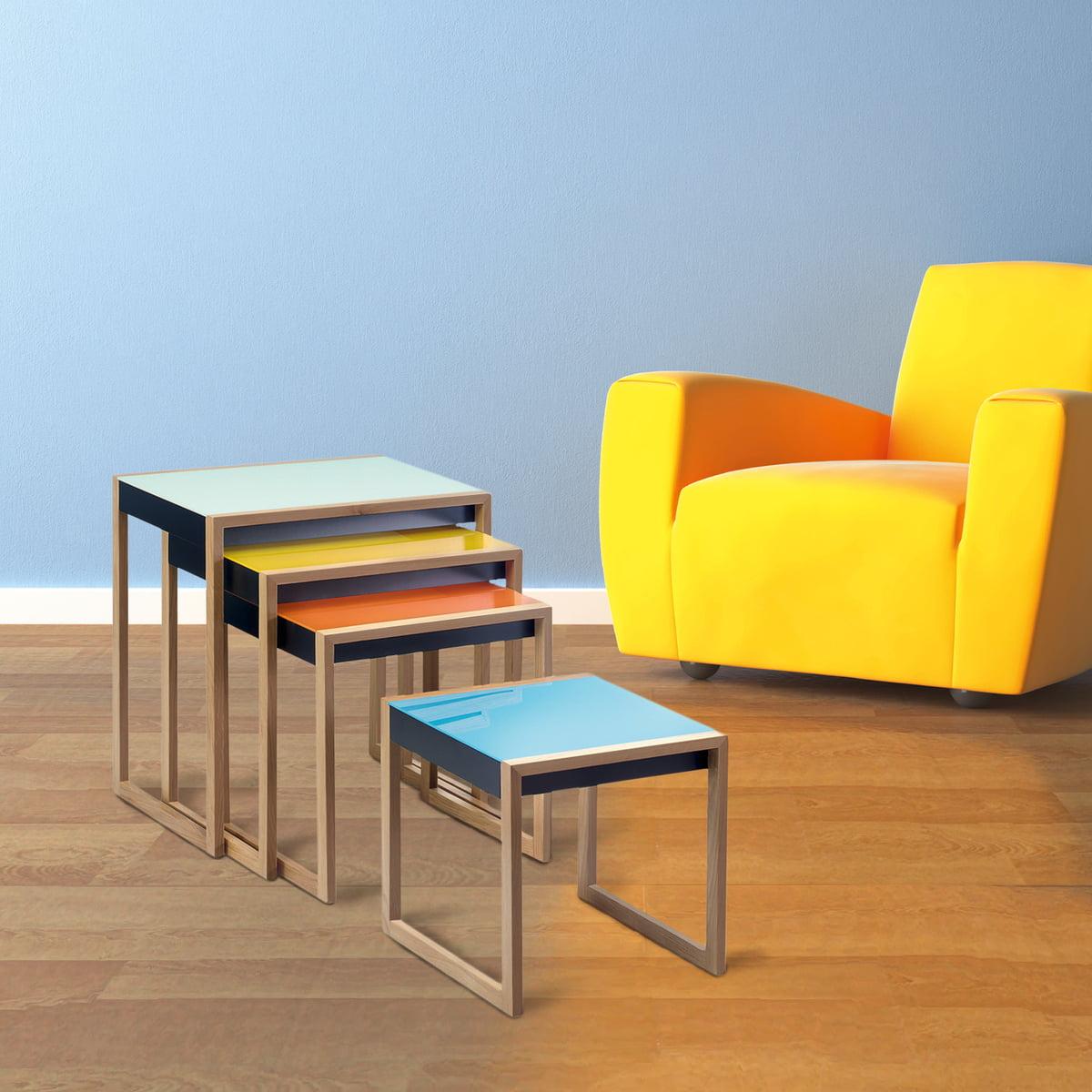 Nesting Tables Von Josef Albers