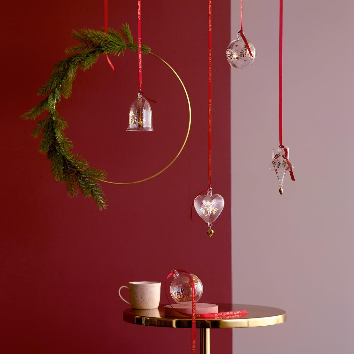 Weihnachtskugel von Holmegaard | Connox