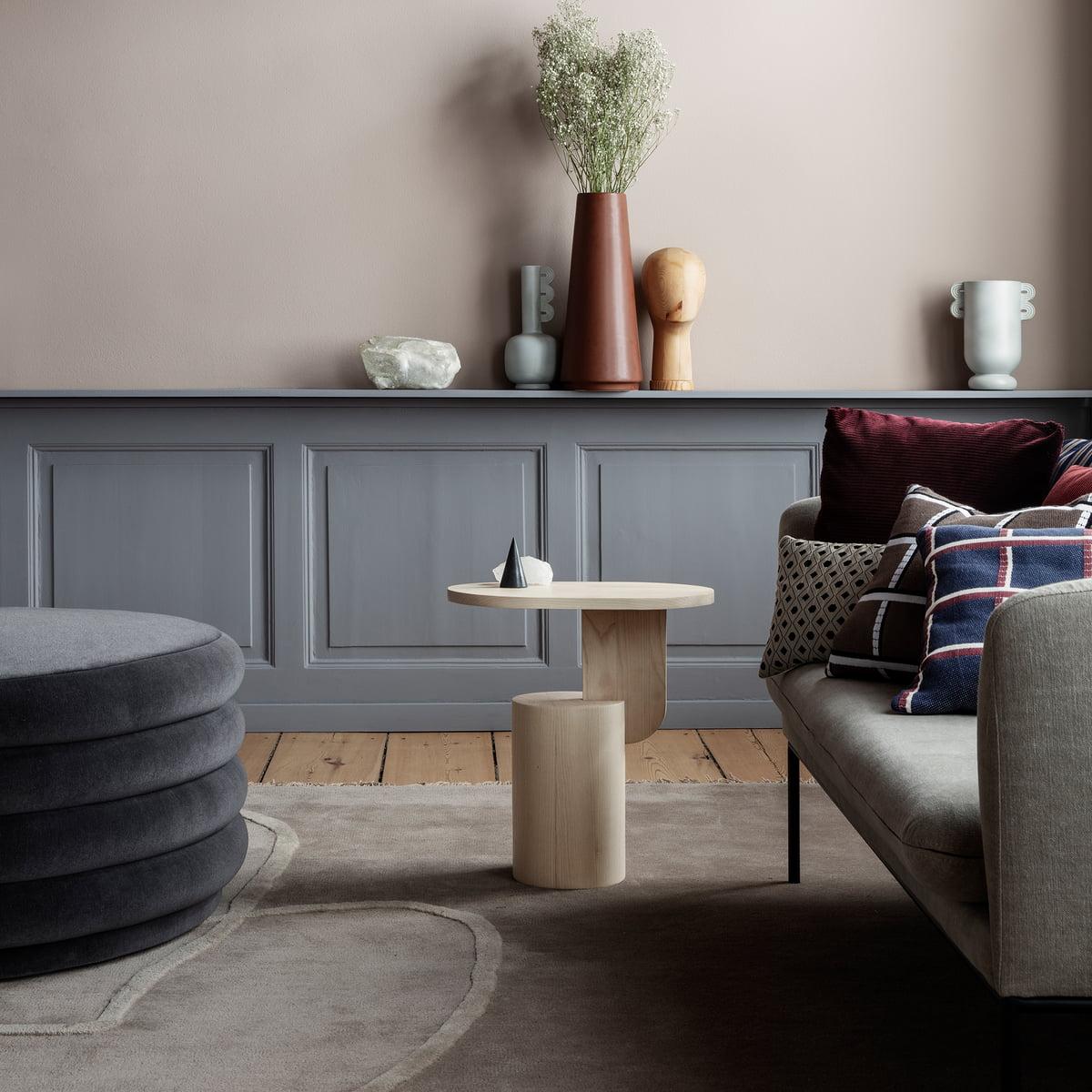 insert beistelltisch von ferm living connox. Black Bedroom Furniture Sets. Home Design Ideas