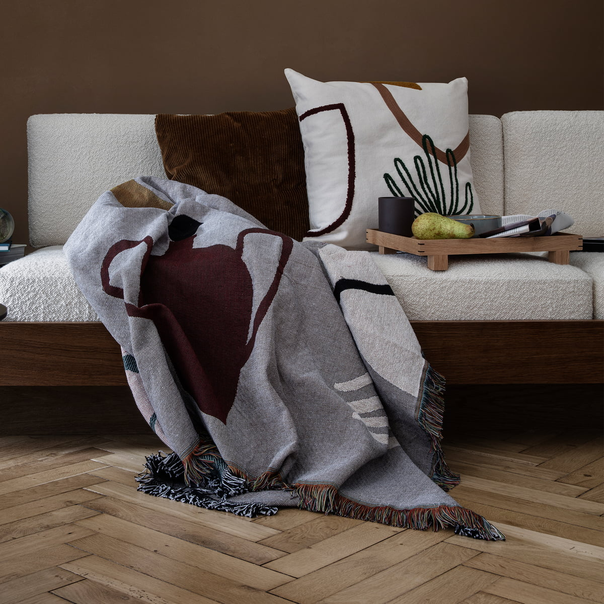mirage kissen von ferm living connox. Black Bedroom Furniture Sets. Home Design Ideas