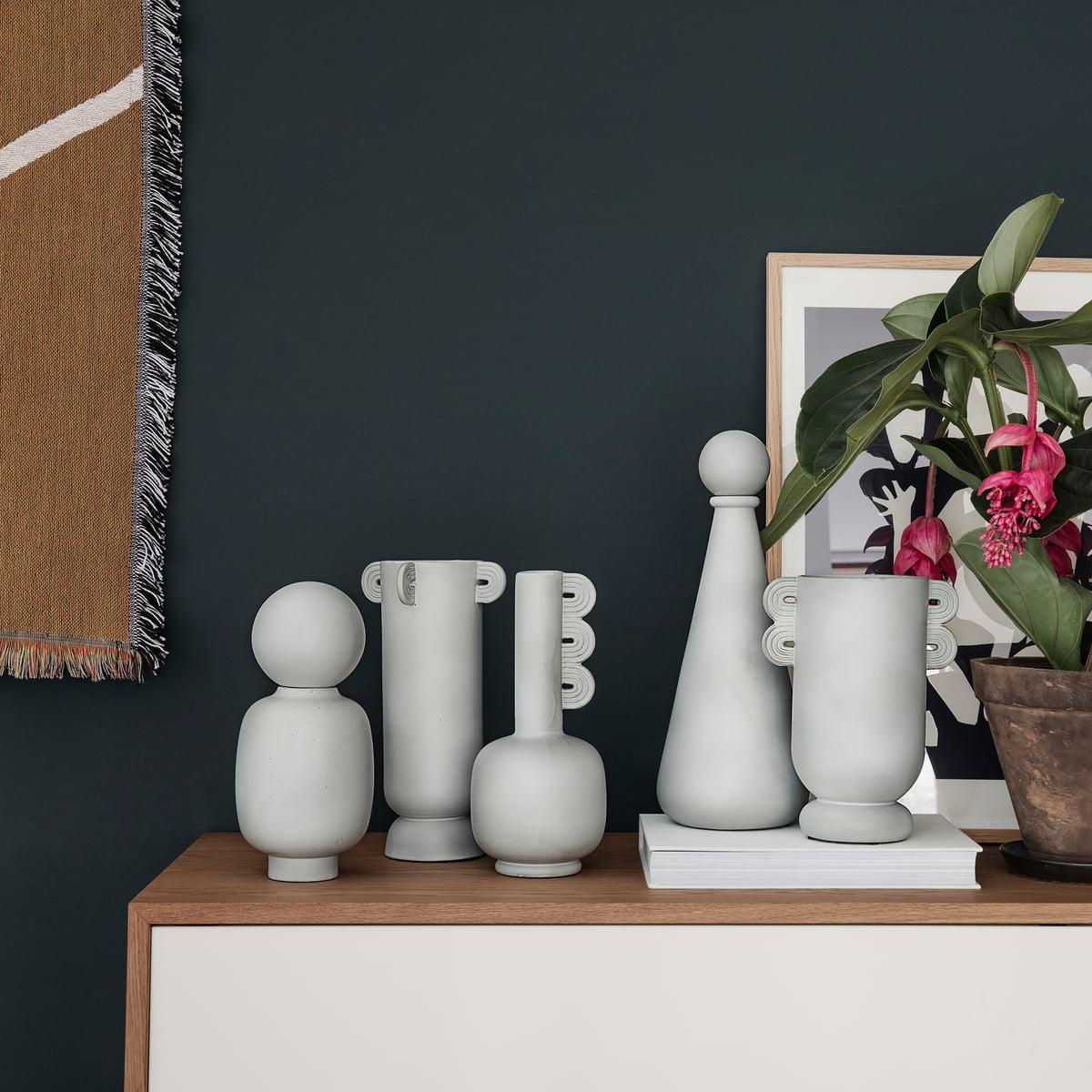 Muses vasen von ferm living connox for Ferm living vase