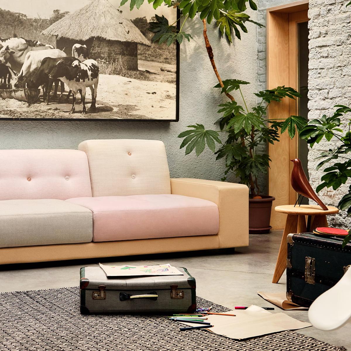 Vitra   Polder Compact Sofa, Pastel