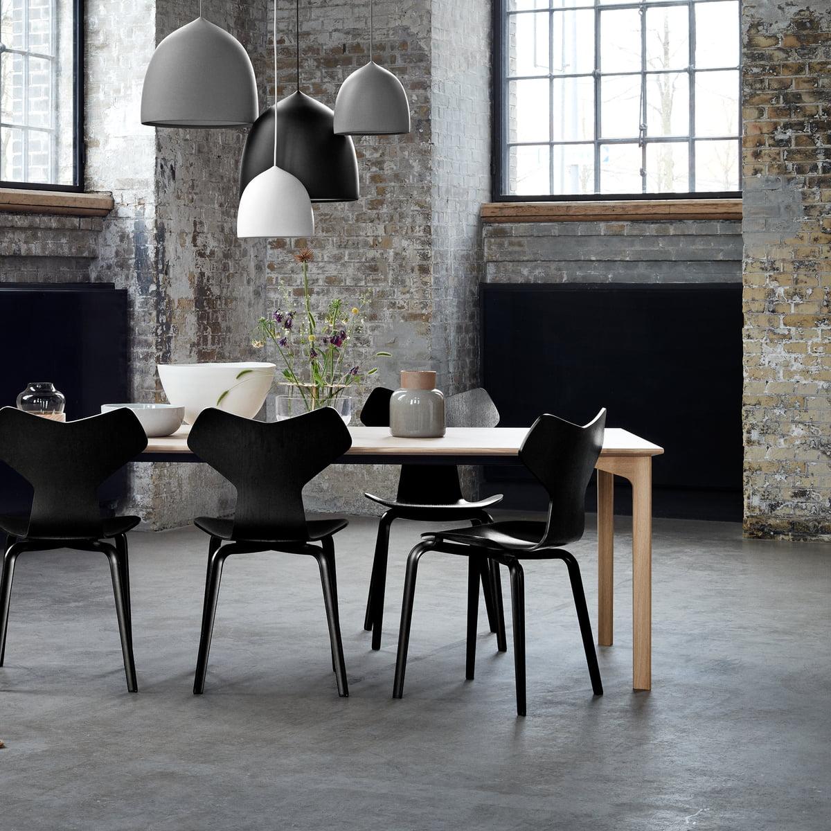 fritz hansen grand prix stuhl im shop. Black Bedroom Furniture Sets. Home Design Ideas