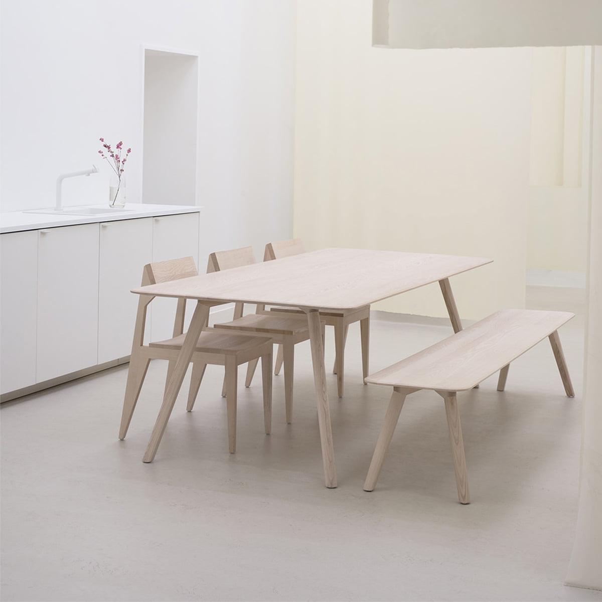 meyer tisch von objekte unserer tage connox. Black Bedroom Furniture Sets. Home Design Ideas