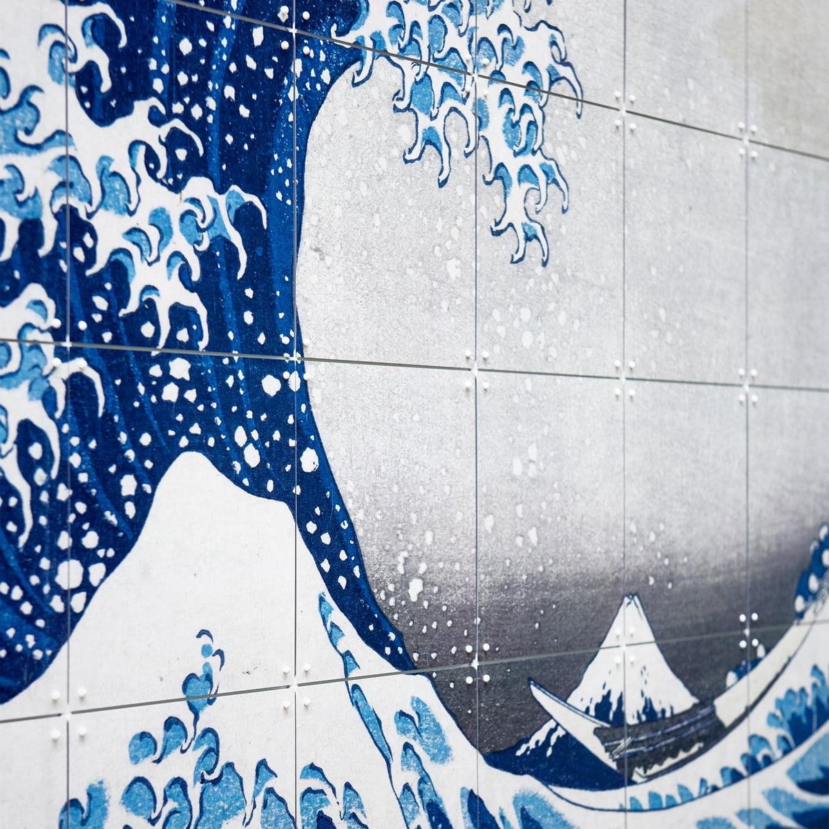 Die Große Welle Vor Kanagawa Hokusai Von Ixxi Connox