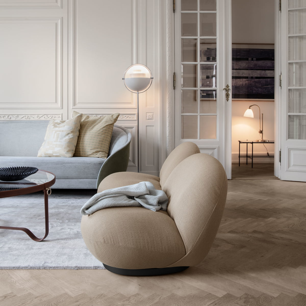 Pacha Lounge Chair Von Gubi Connox