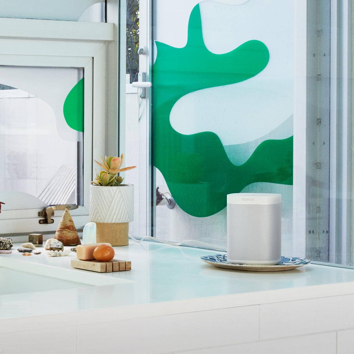 Sonos - PLAY:1 Multiroom Lautsprecher, weiß