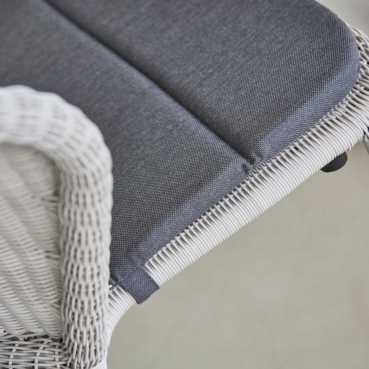 Cane line Sitzauflage für Lean Stuhl (5410), grau