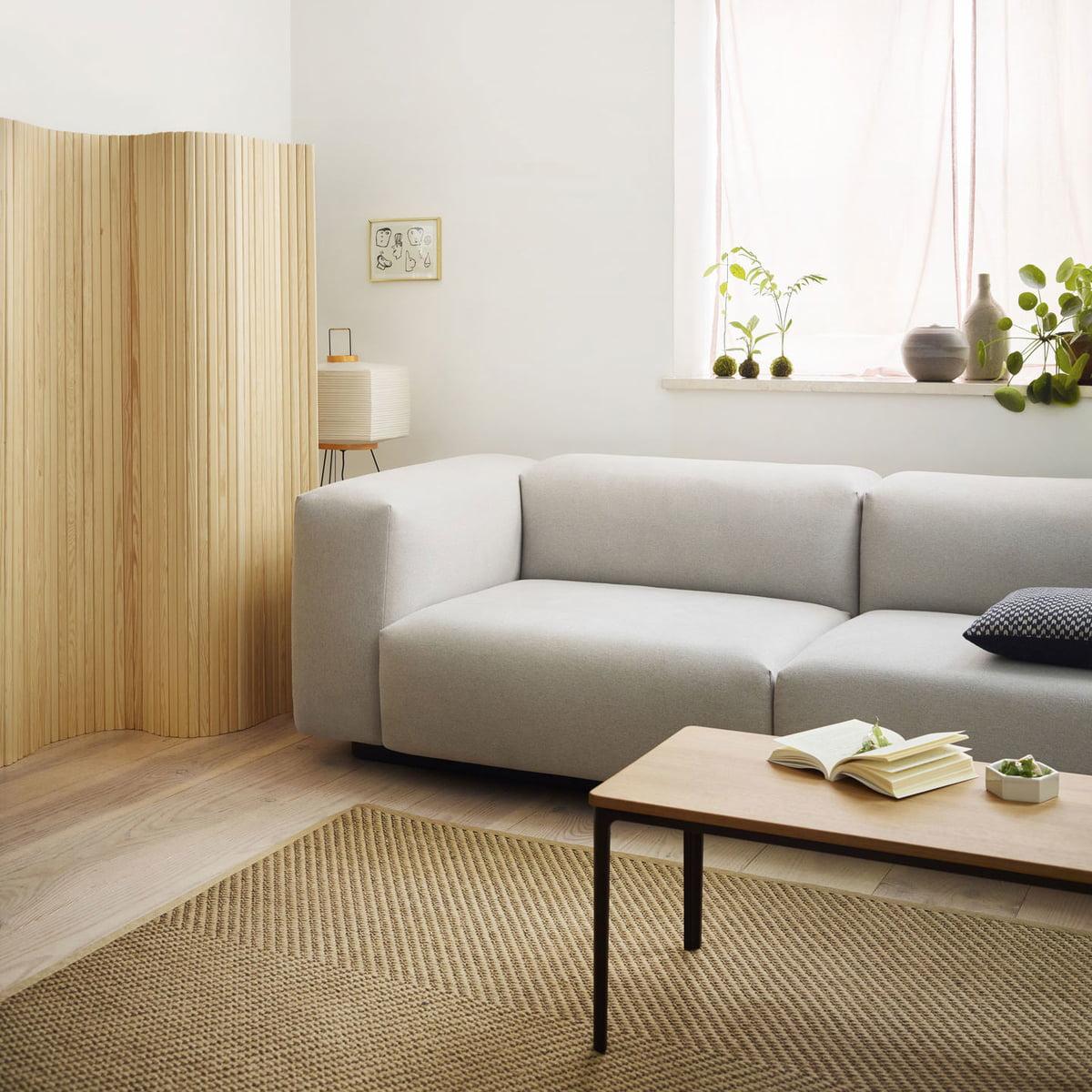 Soft Modular Sofa 3 Sitzer Von Vitra Connox