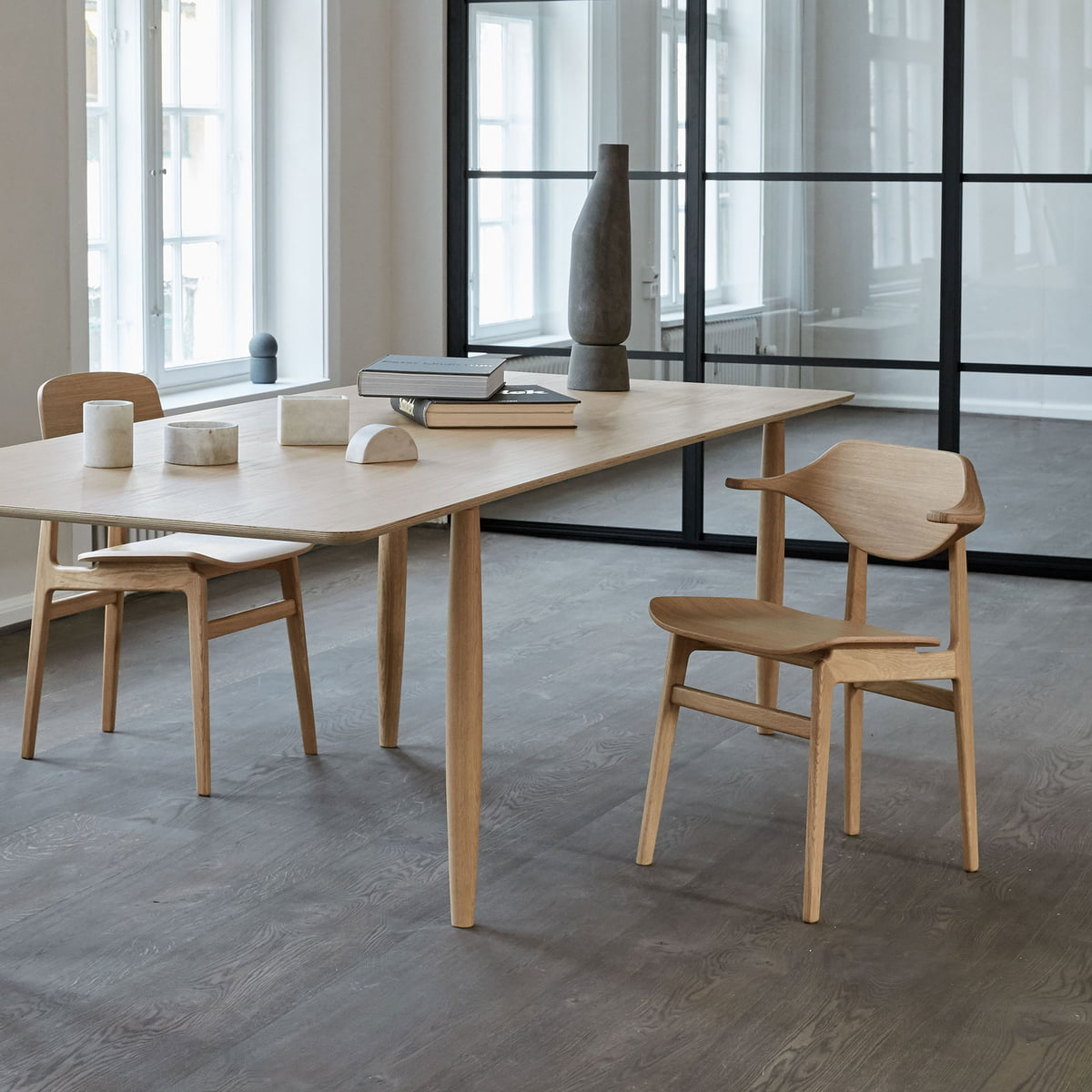 Norr11 NY11 Dining Chair, Eiche natur