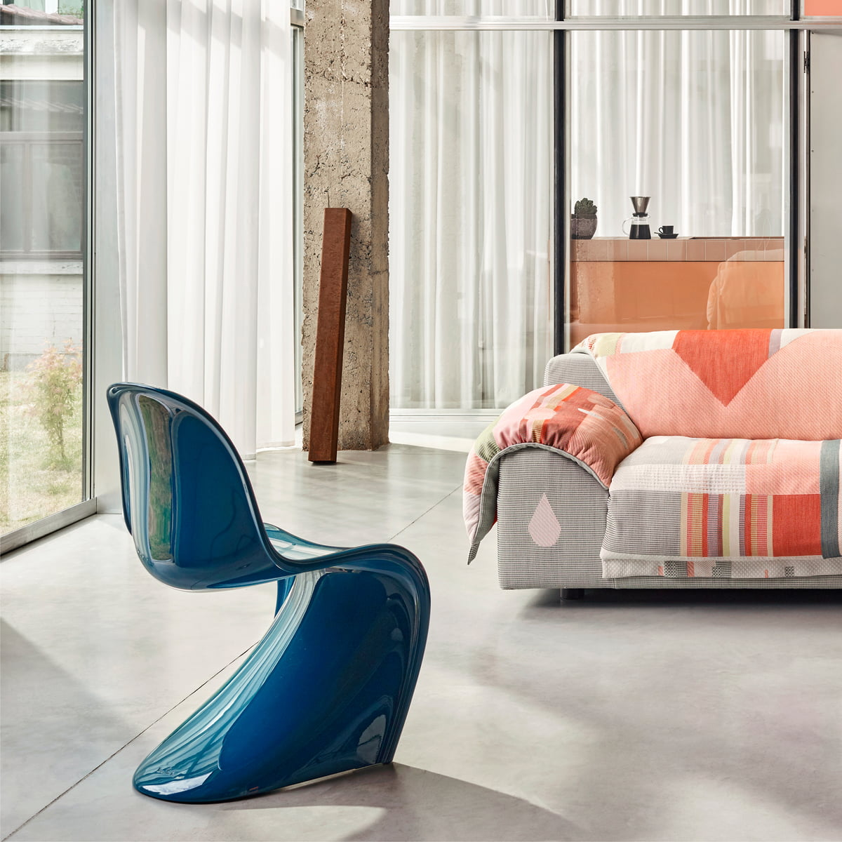Vitra - Panton Chair Classic, petrol (Limited Edition)