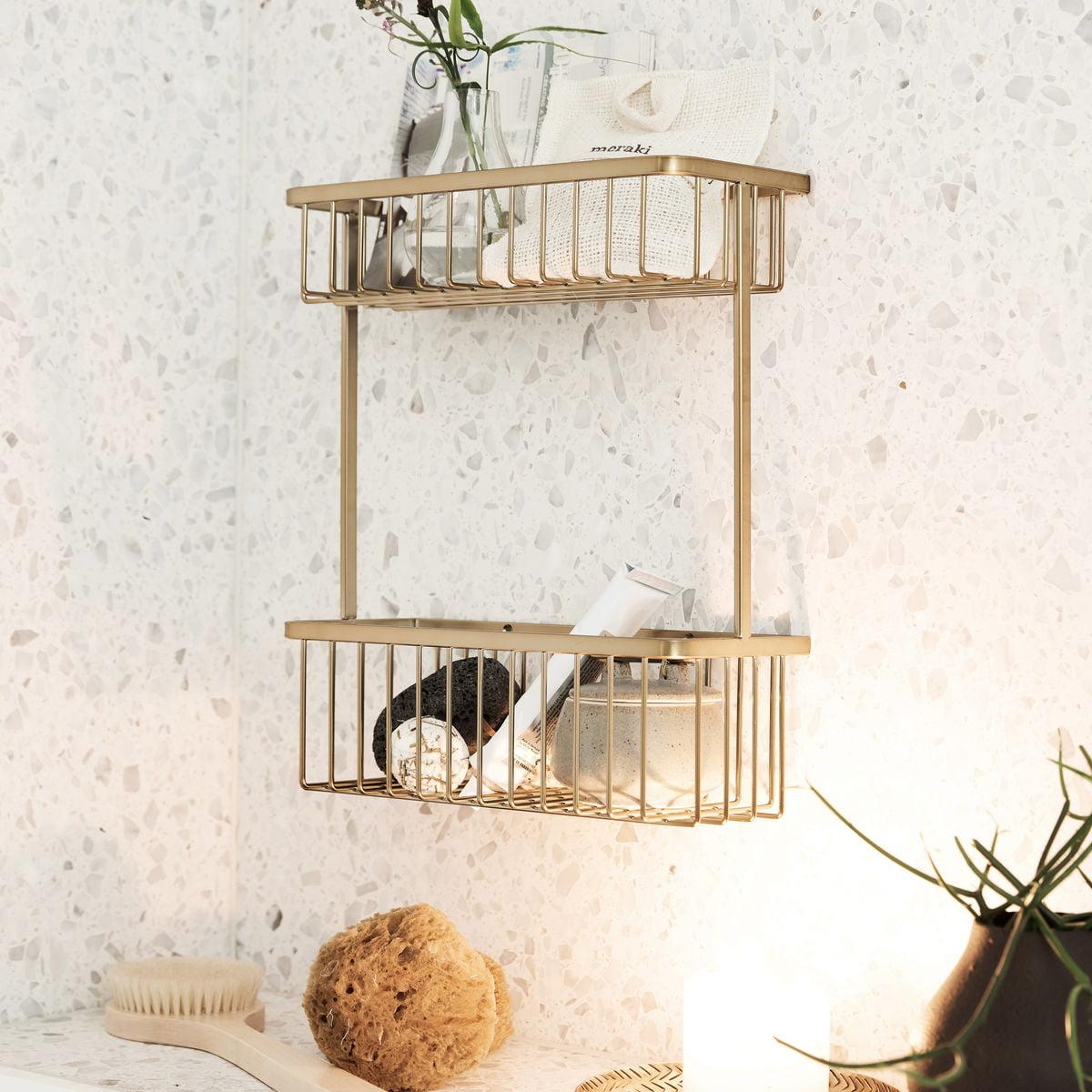 Basket Badezimmer Aufbewahrung von House Doctor   Connox