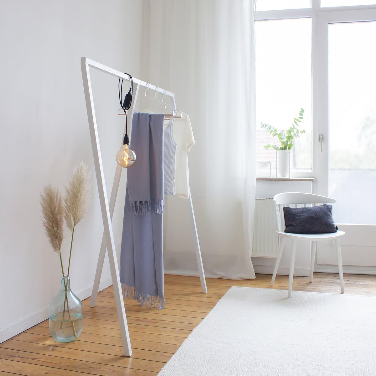 Hay - Loop Stand Garderobenständer (klein), schwarz