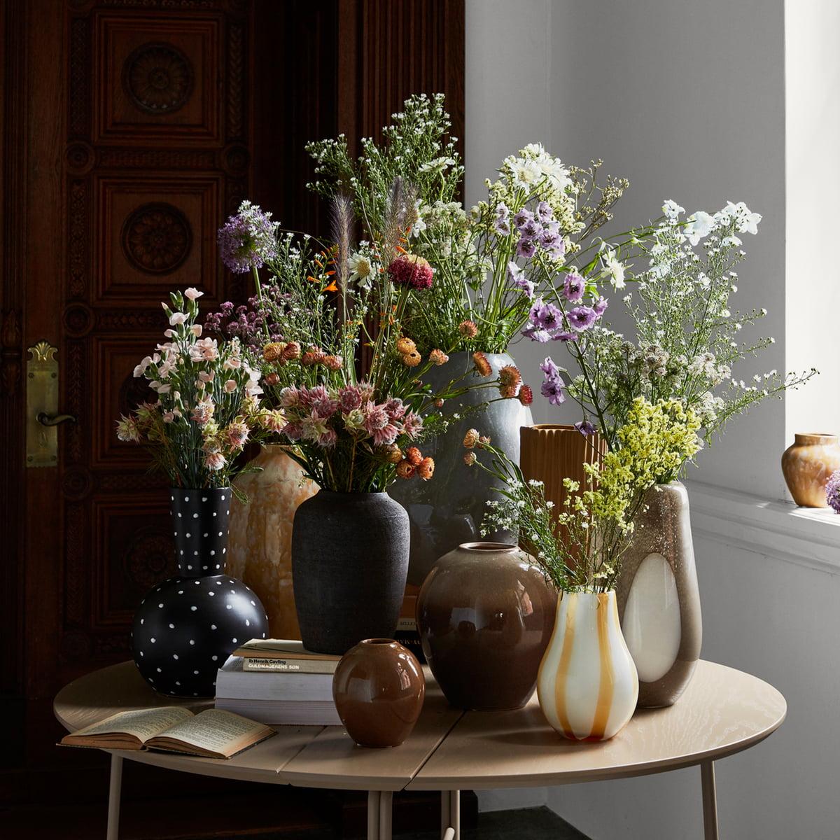 Ada Stripe Vase von Broste Copenhagen   Connox