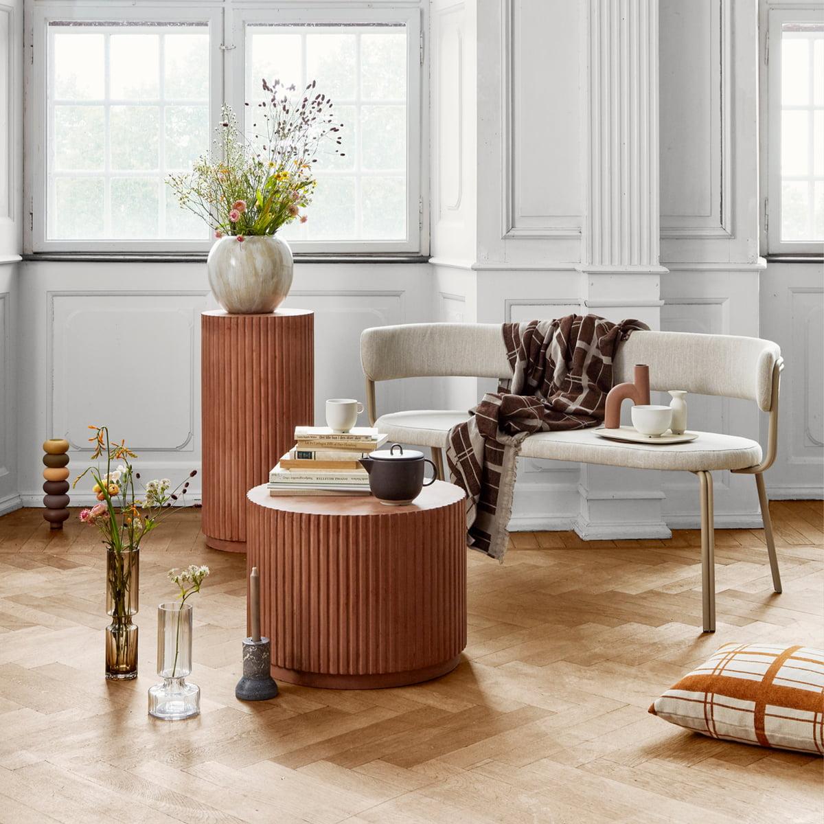 Broste Copenhagen   Hector Vase, dove